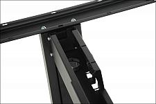 Stelaż metalowy do stołu EF-STT-01 czarny - rozsuwana belka
