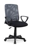 ALEX fotel obrotowy  czarno-szary