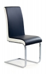 K103 krzesło czarno-biały (2p=4szt)