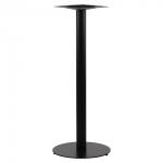 Podstawa do stolika EF-SH-5001-5/H/B czarna - wysokość 111 cm fi 54,5 cm