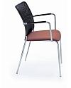 Krzesło konferencyjne SUN H z podłokietnikami