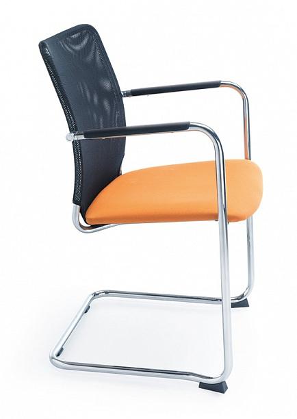 Krzesło konferencyjne SUN V 2P z podłokietnikami