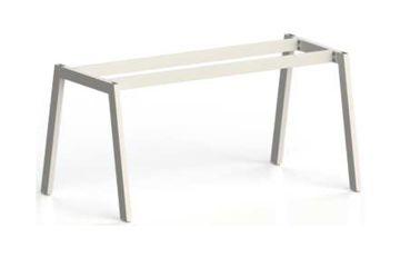 """Stelaże metalowe do: biurek/stołów - noga w kształcie odwróconego """"V"""""""